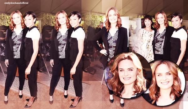 Le 2 mai: Emily était avec Tamara au The Rape Foundation's Groundbreaking Ceremony