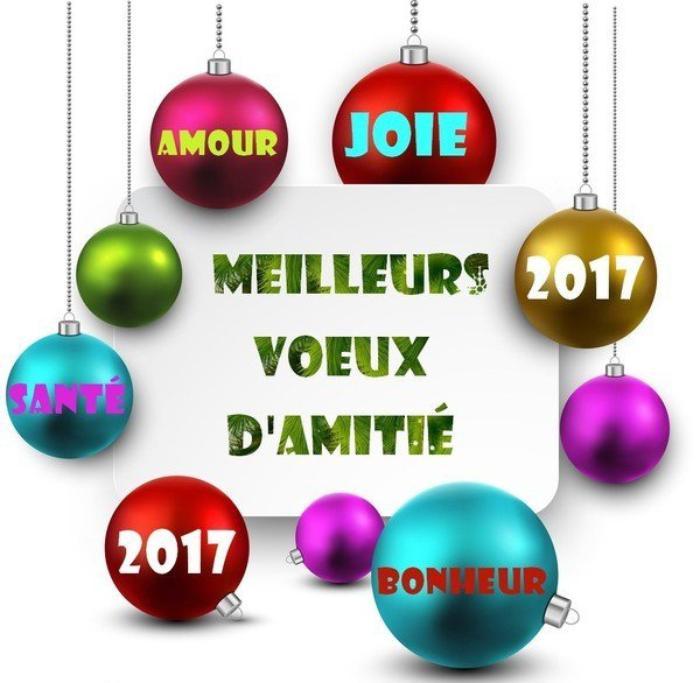 BONJOUR  MES AMIS  NOUS  SOMMES  LE  DIMANCHE   ...1 ER   JANVIER  2017   ...C  EST  LE JOUR  DE  L AN....