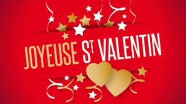 BONJOUR  MES  AMIS  NOUS  SOMMES LE  MARDI  14  FEVRIER  2017  C  EST  LA  ST  VALENTIN   ..ET A LA ST  VALENTIN ...ON  SE FAIT  TOUS  DES  CALINS....VOUI  VOUI ...LOL.....
