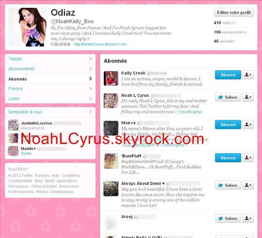 Kelly Crook me follow sur Twitter