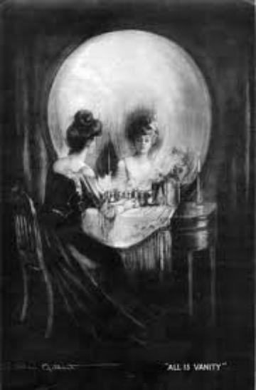 Voiler les miroirs dans la chambre d'un mort......
