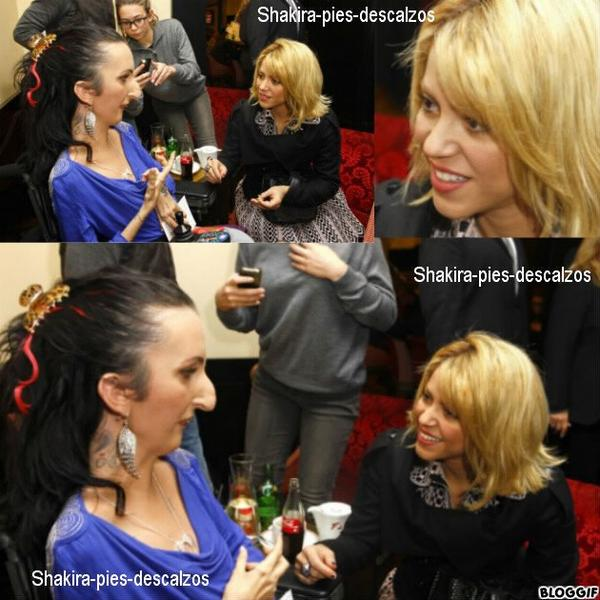 Shakira a rencontré Lucie Carasco a Canne