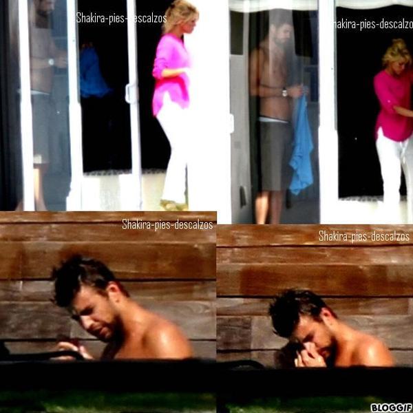 Shakira et Gerard à Miami