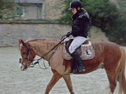 » L'amour c'est toujours emporter quelqu'un sur un cheval.