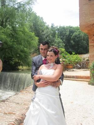 Une petite photo du mariage ....