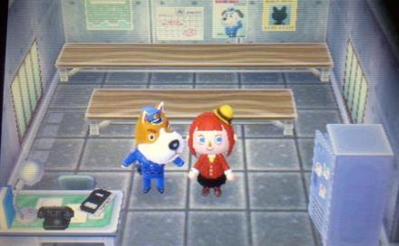 Un poste de police, un!
