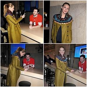 Chace et sa petite amie + Blake à l'ouverture d'un Apple Store