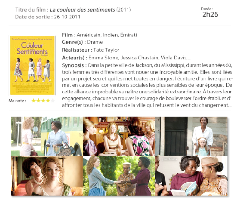 La couleur des sentiments The Help