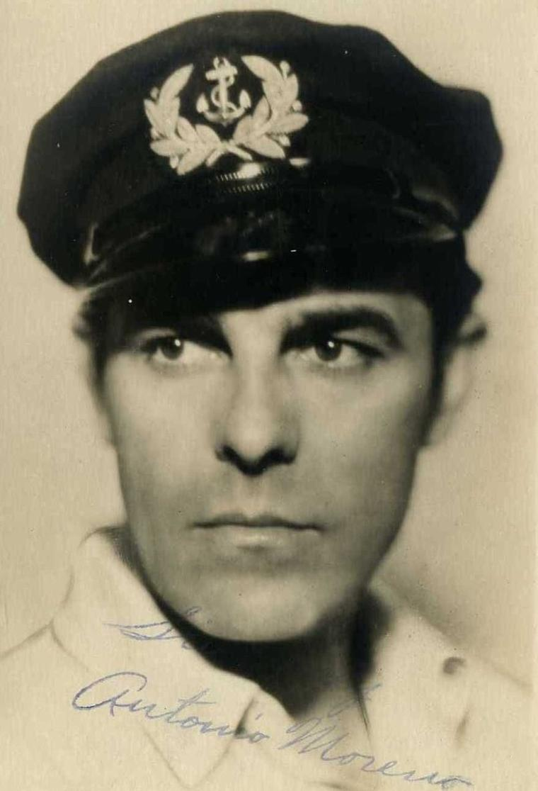 "Antonio MORENO (Born : Antonio GARRIDE MONTEAGUDO,  September 26, 1887 in Madrid, SPAIN,  Died : February 15, 1967 (age 79) in Beverly Hills, Los Angeles, California, USA)  Height : 5' 10"" (1,78 m)"