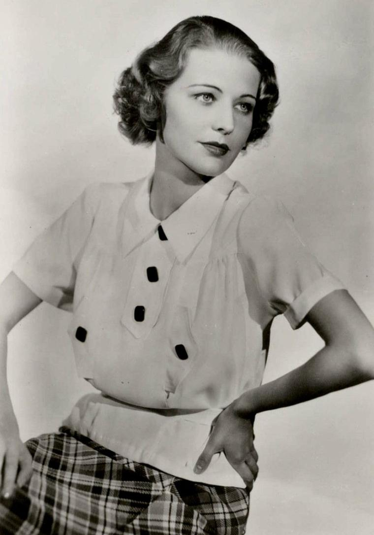 "Florence RICE (Born : February 14, 1907 in Cleveland, Ohio, USA,  Died : February 23, 1974 (age 67) in Honolulu, Hawaii, USA) Height : 5' 4½"" (1,64 m)"