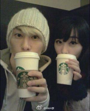 Eunhyuk et sa soeur