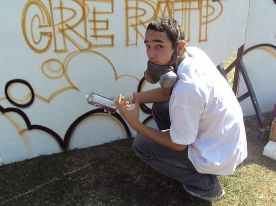 ah le graffiti ...