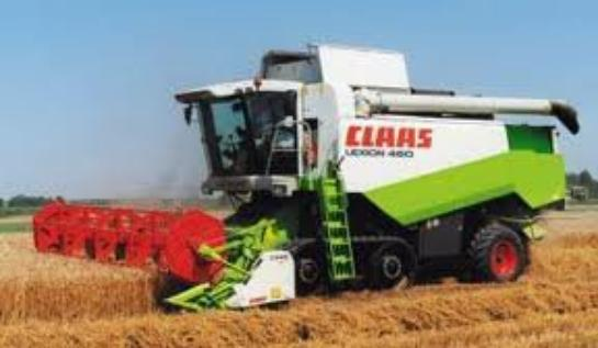 Moissonneuse Claas