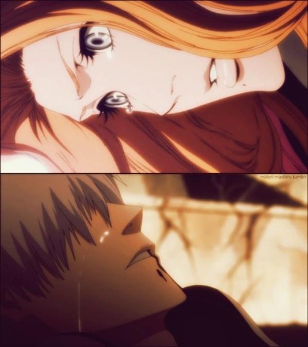 Je vais devenir un Shinigamis et changer les choses. Rangiku....Je vais réparer tout ça, pour que tu ne pleure plus jamais... - Gin !  -  Mais j'ai échoué... au final, Rangiku, je n'ai pas pu te rendre ce qu'on t'avait pris. Je suis content... de m'être excusé