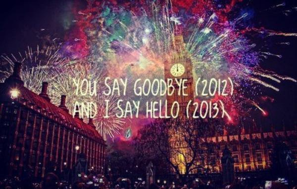 Bonne et heureuse année 2013 les gens !!
