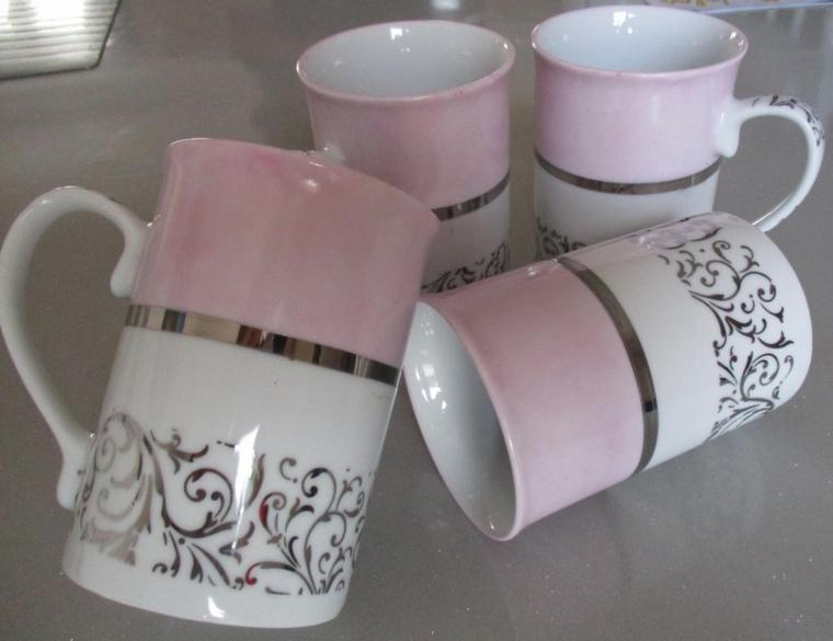 Les 4 mugs ( 20¤ )