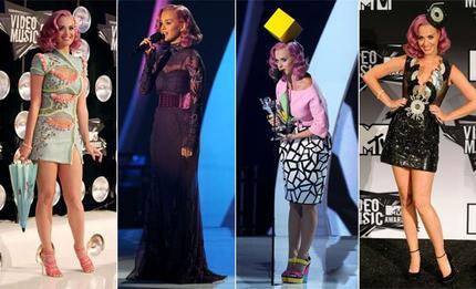 MTV VMA : Lady Gaga fait le show, Katy Perry multi récompensée