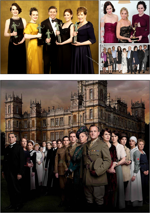 "CULTURE/TELEVISION : SERIE : ""Downton Abbey"" : La série culte à suivre absolument !"