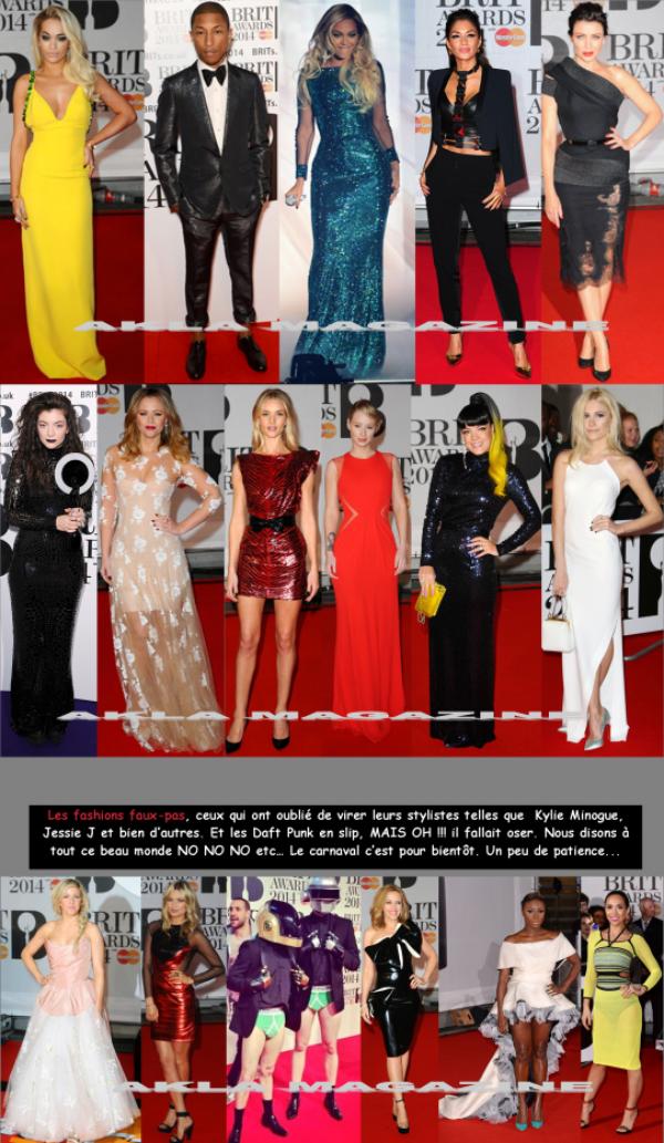 CULTURE/MUSIQUE/Brit Awards 2014