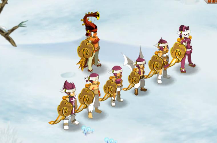 Victoire contre le Minotoboule 1100