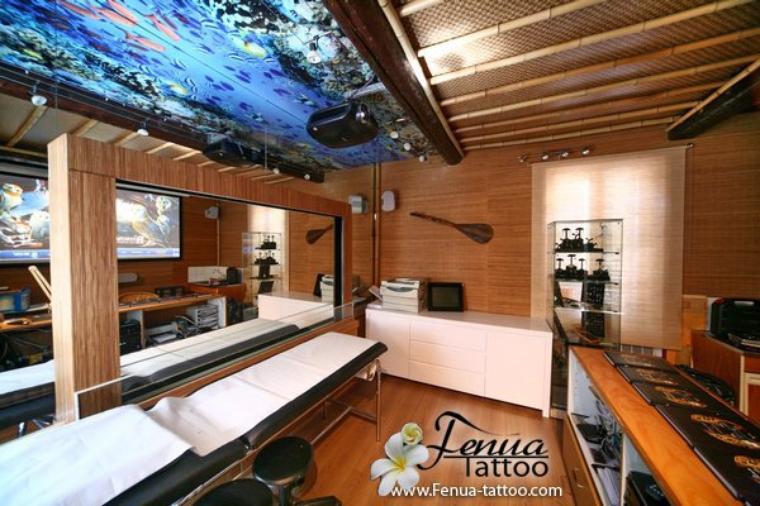 Le salon Tahiti Tattoo à Sanary Nouvelle Ambiance
