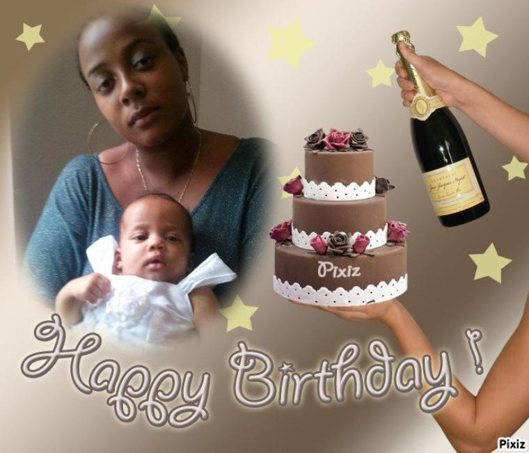 Un joyeux anniversaire à notre KAREN chérie pour ses 22 printemps