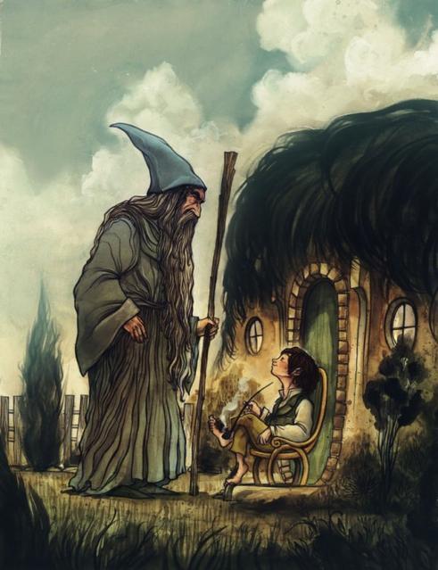 """""""Ceux qui errent ne sont pas toujours perdus."""" J.R.R. Tolkien"""