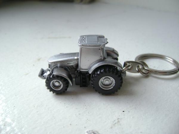 porte clé tracteur et ensileuse