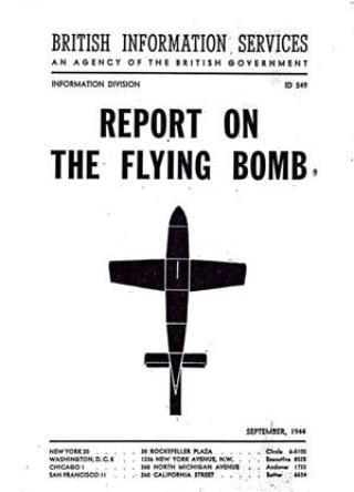 Rapport alliées sur les bombes V1