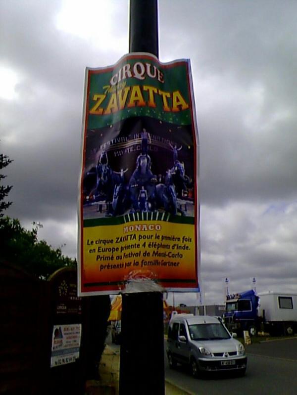 Cirque thierry zavatta à ploubalay (22) du 8 au 10 juillet 2014 (Présentation)