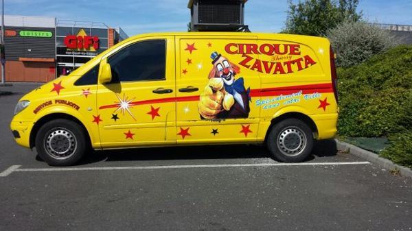 Le cirque thierry zavatta à La Richardais-Dinard (35) du vendredi 31 juillet au 8 aout (présentation)
