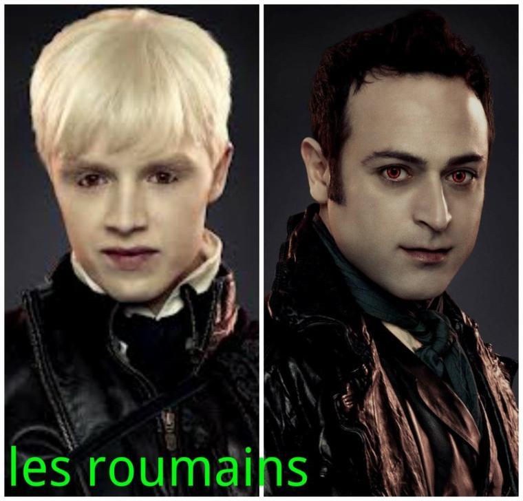 Le clan roumain (non-végétariens)
