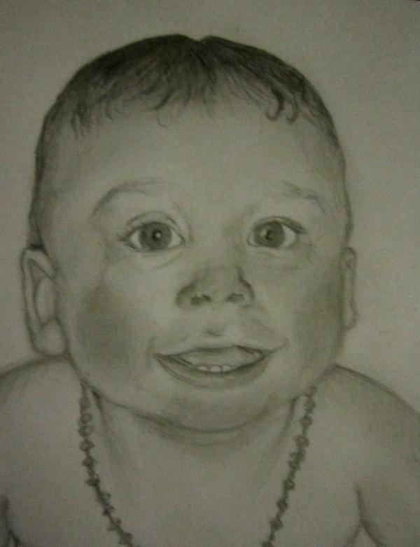 Portrait d'un bébé