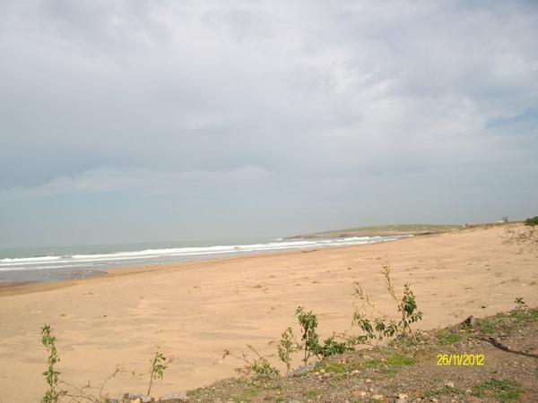 Cote mer Skhirat route de Casa Rabat
