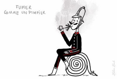 """D'où vient l'expression...""""Fumer comme un Pompier"""" ?"""