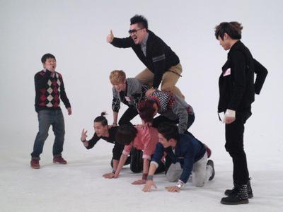 Teen Top Piggyback !