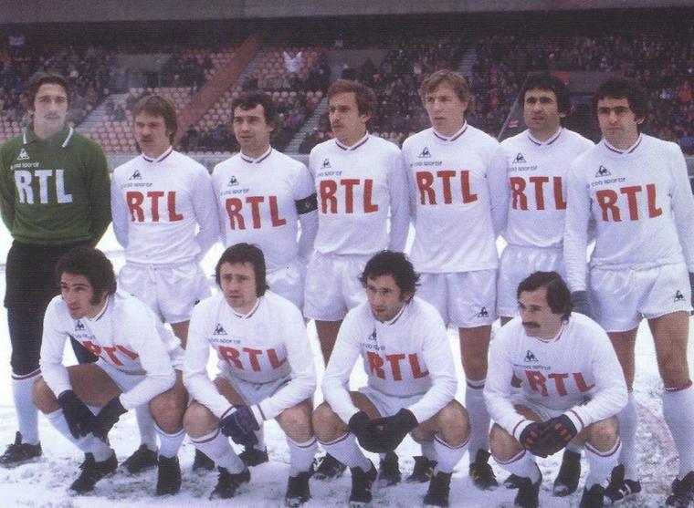 Maillot OL 1977/1978