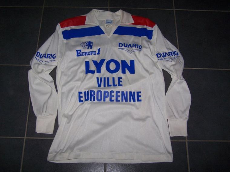 Maillot OL 1987/1988