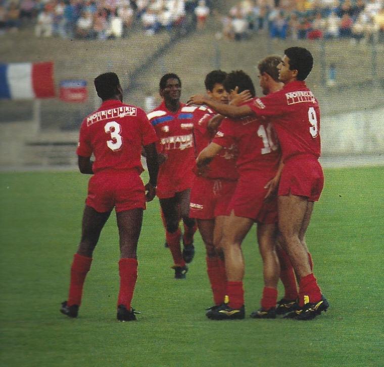 Maillot OL 1988/1989