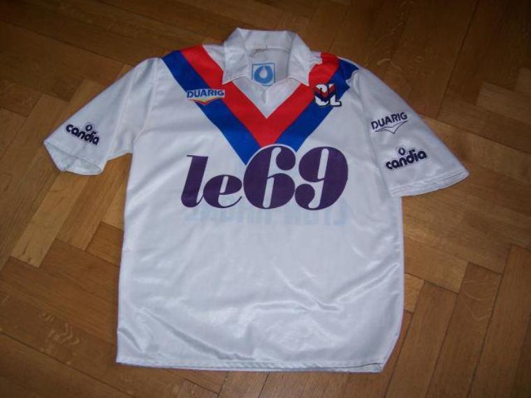 Maillot OL 1990/1991