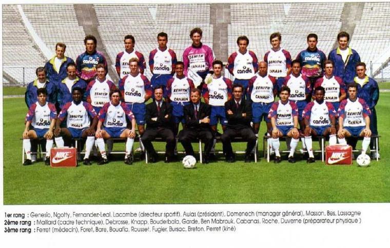 Maillot OL 1991/1992