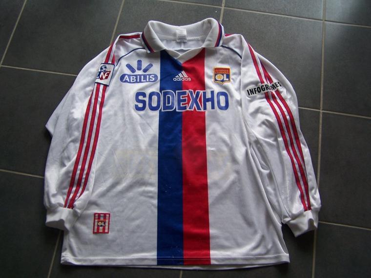 MAILLOT OL 1998/1999