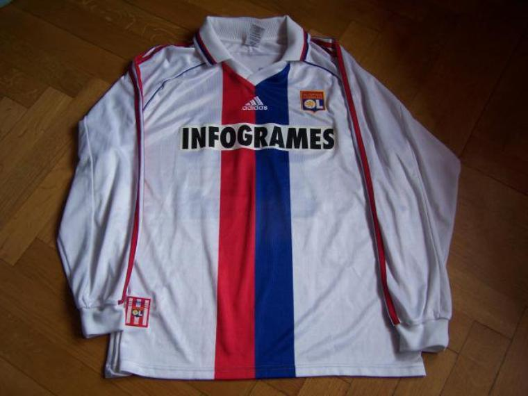 Maillot OL 1999-2000 europe