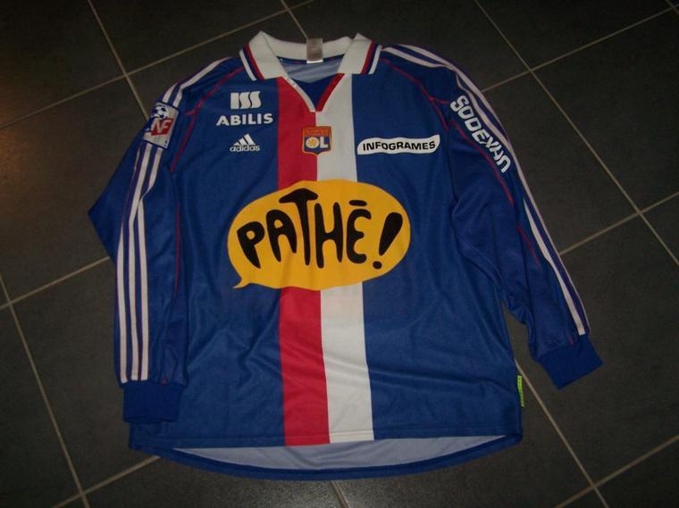 Maillot OL 2000-2001 extérieur