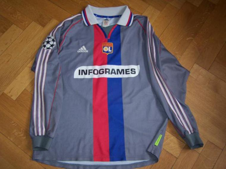 Maillot OL 2000-2001 Europe