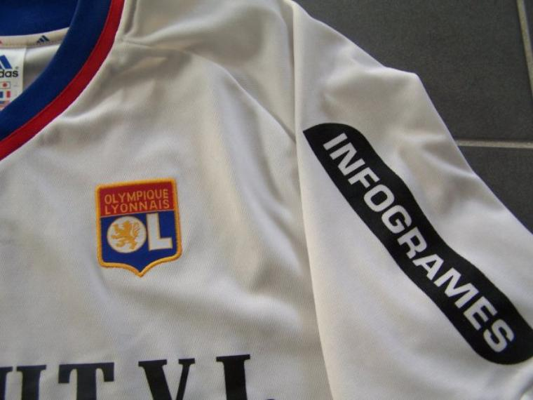 Maillot OL 2001-2002