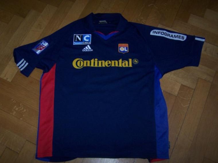 Maillot OL 2001-2002 extérieur