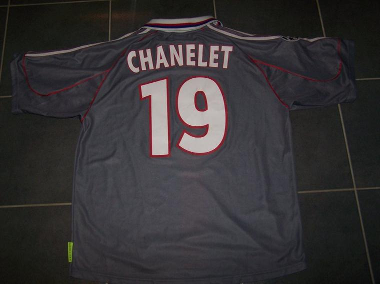 Maillot OL 2001-2002 europe