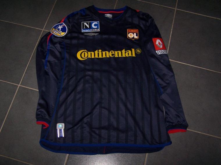 Maillot OL 2002-2003 extérieur
