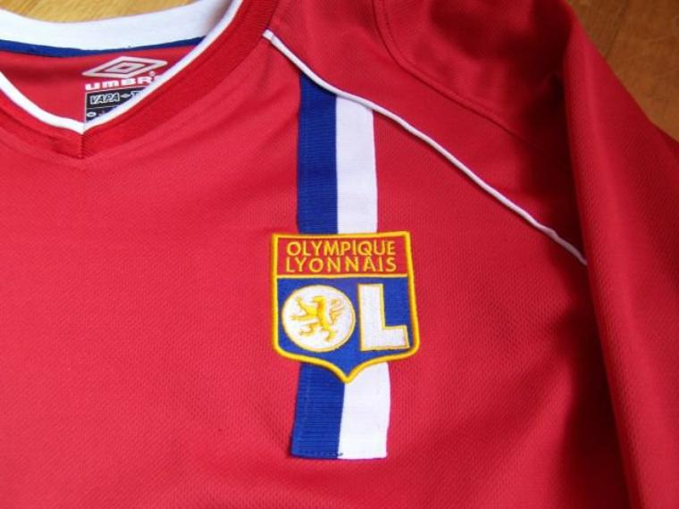 Maillot OL 2002-2003 europe